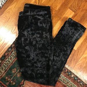 Joes velvet skinny jeans